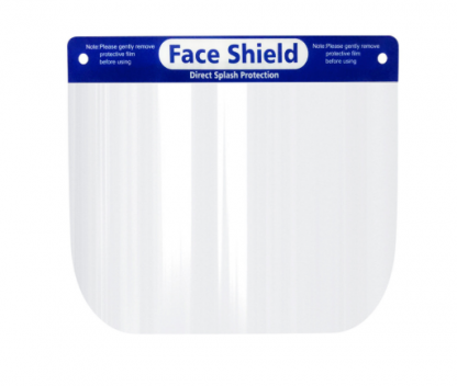 faceshield front